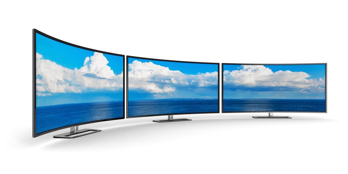 Curved TV Rental